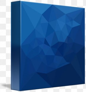 Abstract Blue - Cobalt Blue Teal Rectangle PNG
