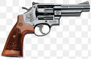 Weapon - Revolver Trigger Gun Barrel Firearm Smith & Wesson Model 29 PNG