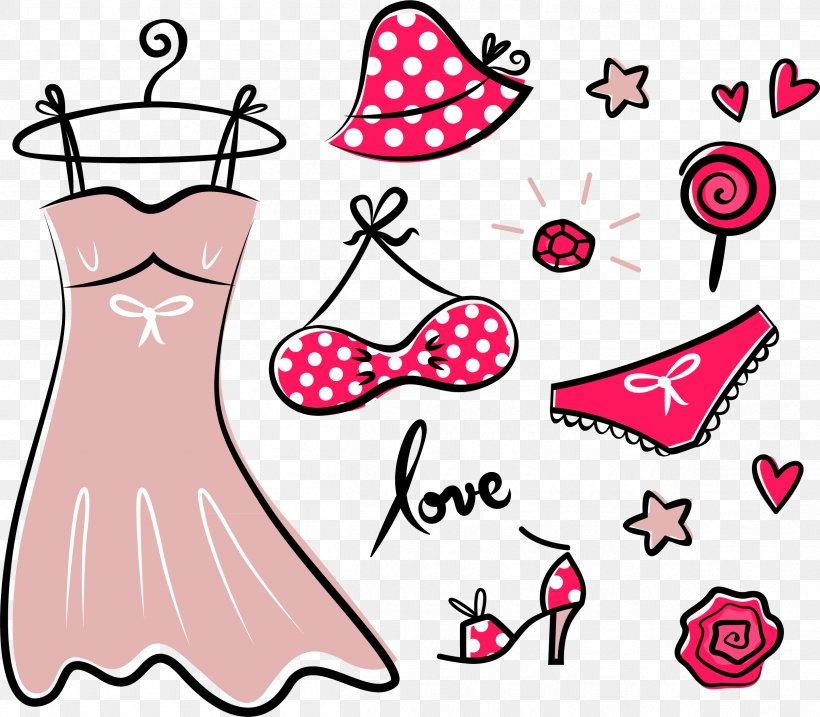 Fashion Accessory Royalty-free Clothing Clip Art, PNG, 2410x2110px, Watercolor, Cartoon, Flower, Frame, Heart Download Free