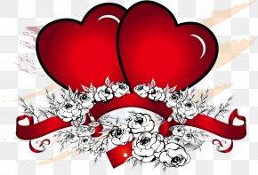 Happy Valentines Day - Heart Love Desktop Wallpaper Romance PNG