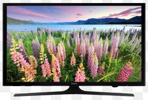 Television - 1080p LED-backlit LCD Samsung High-definition Television 4K Resolution PNG
