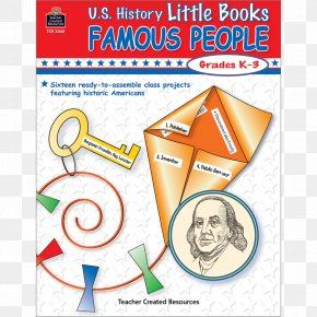 Book - Famous Events: Grades K-3 U.S. History Little Books Famous People United States Paper PNG