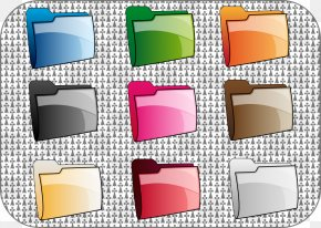 Changeable Vector - Directory Color Computer File Clip Art PNG