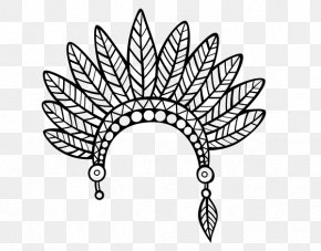 Feather - Drawing Feather Crown Coloring Book Pencil PNG