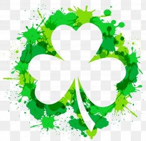 Saint Patrick's Day - Saint Patrick's Day Irish People Ireland 17 March Shamrock PNG