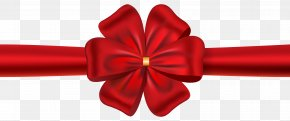 Red Ribbon With Bow Image - Ribbon Red Clip Art PNG
