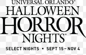 Halloween Horror Nights - Halloween Horror Nights Universal's Islands Of Adventure Haunted Attraction The Wizarding World Of Harry Potter Resort PNG