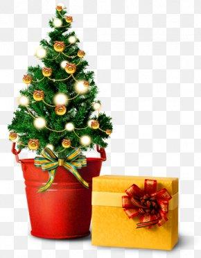 Taobao Material, Christmas Material, Christmas Tree Decoration - Christmas Tree Gift Santa Claus PNG