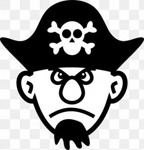 Funny Skull - Hat Piracy Tricorne Clip Art PNG