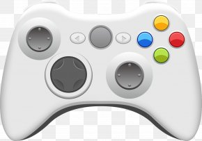 Vector Gamepad - Video Game Console Xbox 360 Controller Joystick PNG