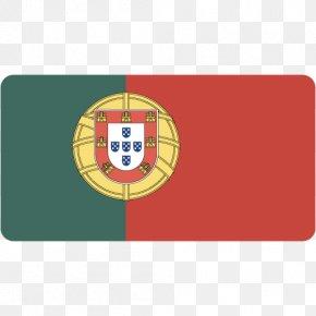Portugal - Flag Rectangle Label PNG