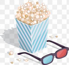 Popcorn - Film Flat Design PNG
