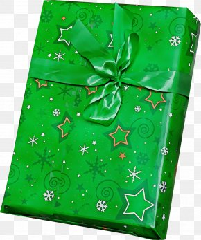 Packaging And Labeling Leaf - Green Gift Wrapping Present Wrapping Paper Leaf PNG