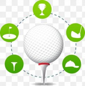 Golf Abstract Pattern - Golf Ball Poster Golf Ball PNG