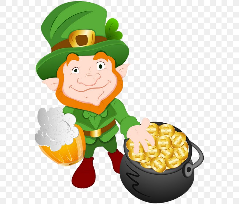 Saint Patrick's Day 17 March Clip Art, PNG, 585x700px, 17 March, Patrick, Fictional Character, Food, Fruit Download Free