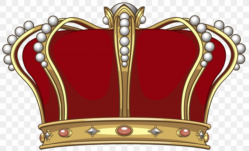 Crown King Clip Art, PNG, 7744x4701px, Crown, Fashion Accessory, Furniture, German State Crown, Gold Download Free
