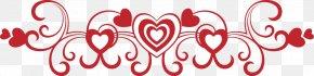 Valentine's Day - Dia Dos Namorados Red Love Clip Art PNG