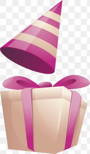 Pink Birthday Gift Box - Gift Birthday Pink PNG