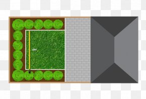 Lawn Run - Lawn Artificial Turf Measurement Rectangle PNG