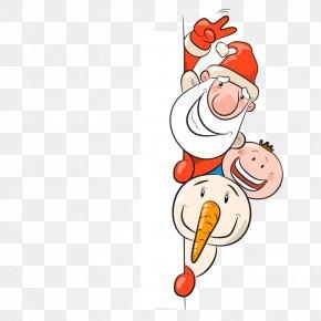 Santa Claus And Children Vector Material - Santa Claus Christmas Euclidean Vector Illustration PNG