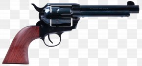 Handgun - Colt Single Action Army Revolver .357 Magnum .38 Special Firearm PNG