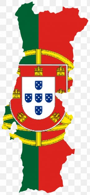 World Flags Clipart - County Of Portugal Flag Of Portugal Map PNG