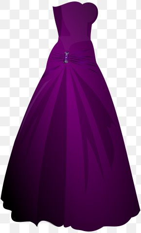 Dresses Cliparts - Gown Robe Dress Pixabay PNG