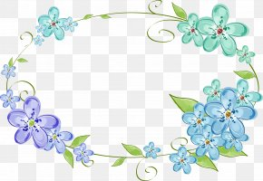 Floral Frame - Mother's Day Holiday PNG