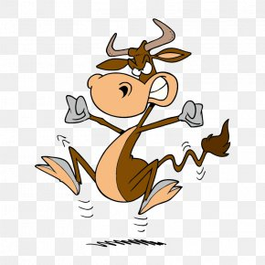 Mad Cow Animal Cartoon Avatar - American Cattle Beef Cattle Bovine Spongiform Encephalopathy Cartoon Clip Art PNG