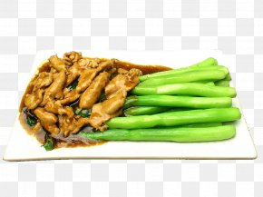 Kale Pork - Chinese Cuisine Chinese Broccoli Pepper Steak Food PNG