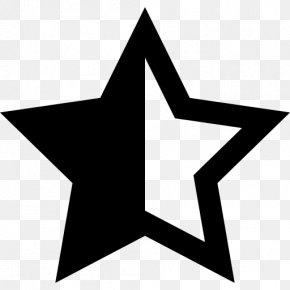 Star - Five-pointed Star Font Awesome Clip Art PNG