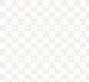 Heart Element - Textile White Flooring Black Pattern PNG