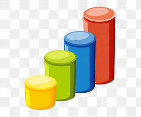 Vector Solid Geometry 3d Cylinder - Cylinder Chart Solid Geometry PNG