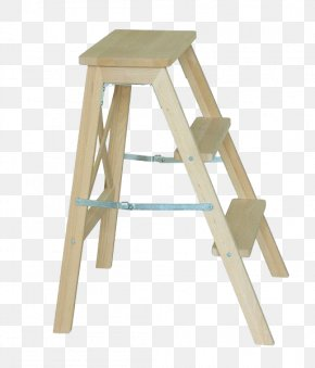 Bench Ladder - Stairs Ladder Stool PNG