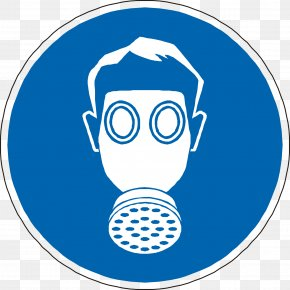Gas Mask - Personal Protective Equipment Respiratory System Sign Safety PNG