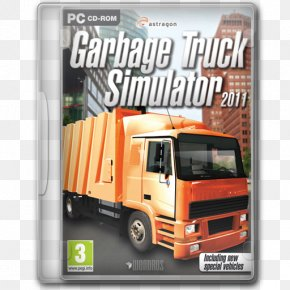 Garbage Truck Simulator 2011 - Brand Freight Transport Commercial Vehicle Motor Vehicle PNG