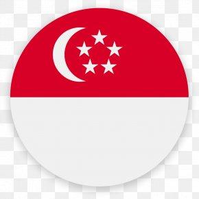 SINGAPORE - Flag Of Singapore Pet Sitting PNG