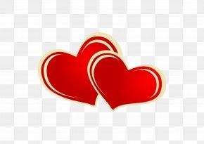 Heart-shaped Dark Red Vector - Heart Red Euclidean Vector PNG