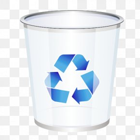 Recycle Bin Material - Recycling Waste Container Icon PNG