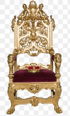 Ancient Emperors Luxury Seats Photograph PNG