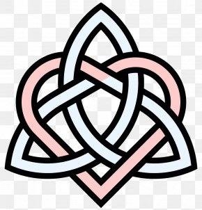 Heart Knot Cliparts - Symbol Celtic Knot Triquetra Sister PNG