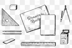 Drawing Tool - Technical Drawing Tool Drawing Made Easy: A Helpful Book For Young Artists; The Way To Begin And Finish Your Sketches Clearly Shown Step By Step Clip Art PNG