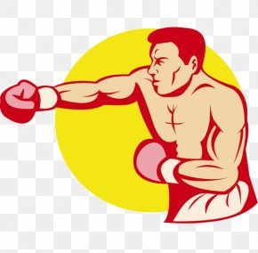 Boxing Punches People - Boxing Glove Jab Royalty-free PNG