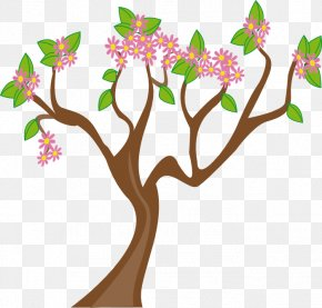 Beautiful Plant Cliparts - Tree Spring Clip Art PNG
