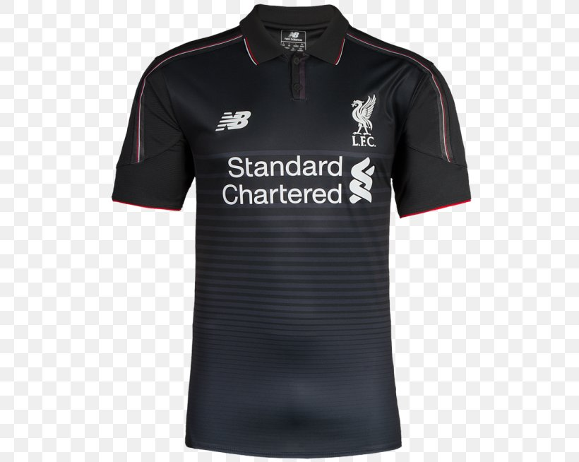 Liverpool F C Premier League Kit Shirt Jersey Png 540x654px 2018 2019 Liverpool Fc Active Shirt Black