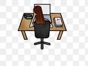 Chair Wood - School Desk PNG