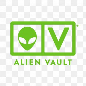 Business - AlienVault Security Information And Event Management Logo Business Brand PNG