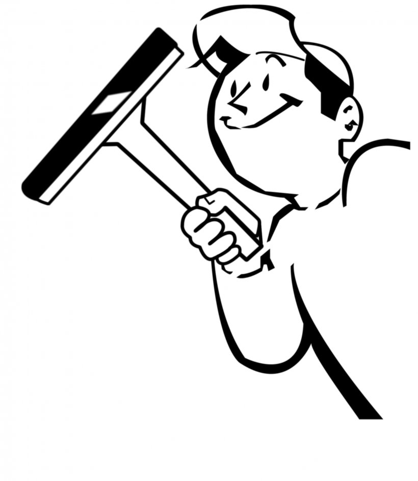 Window Cleaner Clip Art, PNG, 2284x2625px, Window, Area, Art, Artwork, Black Download Free
