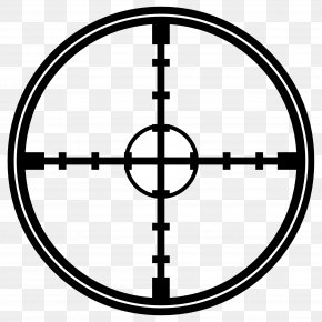 Crosshair - Reticle Clip Art PNG