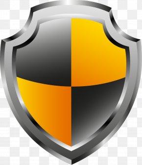 Glossy Vector - Shield Logo Escutcheon Clip Art PNG